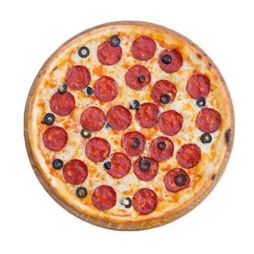 WoWer Bequeme Doppelseitige Flanell Pizza Wickeldecke Perfekt Runde Hamburger Handtücher Pizzadecke Decke Fleecedecke Bettdecke Kuscheldecke Sofadecke, Couchdecke