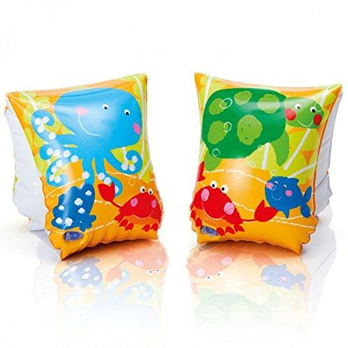 INTEX Arm und Schwimm-Manschetten Fun Fish Schwimmhilfe Baby Kinder Schwimmflügel Schwimmärmel