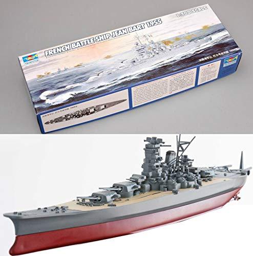 Juguetes educativos Modelo 1/700 Buque de guerra de la Armada Japonesa Buque de guerra de plástico Yamato Ensamblado Kit de construcción de modelos con motor DIY Niños Militares