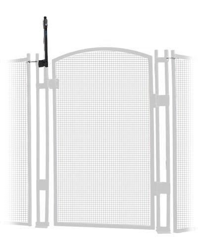 EZ-Guard 4' Tall Self Closing/Self Latching Pool Fence Gate -White