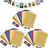 Paper Photo Frame 5x7 Kraft Paper Picture...