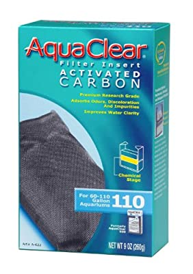 (6 Pack) Aquaclear 110 Activated Carbon Insert