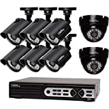 Q-See QTH16-8AK-2 16 Channel, 6 Bullet, 2 High Definition 720p Dome Cameras, 2TB HDD