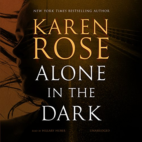 Alone in the Dark audiobook cover art