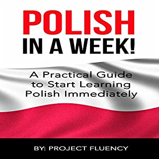 Polish: Learn Polish in a Week! audiobook cover art