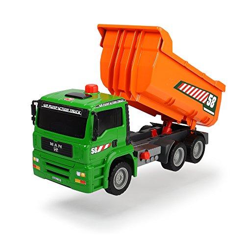 Dickie Toys 203805005 - Air Pump Dump Truck, Fahrzeug