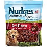 Nudges Natural Dog Treats Steak Grillers, 34 oz.