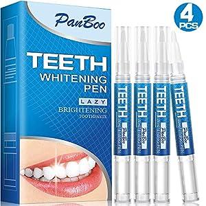 Teeth Whitening Pen With Whitening Gel x4