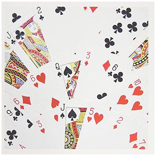 3dRose Spielkarten Fotografie - Kartenspiel Foto Geschenk für Kartenspieler - Grußkarten, 15,2 x 15,2 cm, 12 Stück (gc_112895_2)