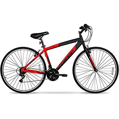 700c Hyper SpinFit Men39;s Hybrid Bike, Red