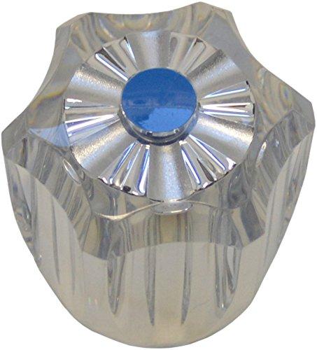 sanicomfort 1933728 Plexigriff Haubengriff blau