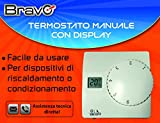 Termostato Manuale con display digitale - BRAVO 93003108...