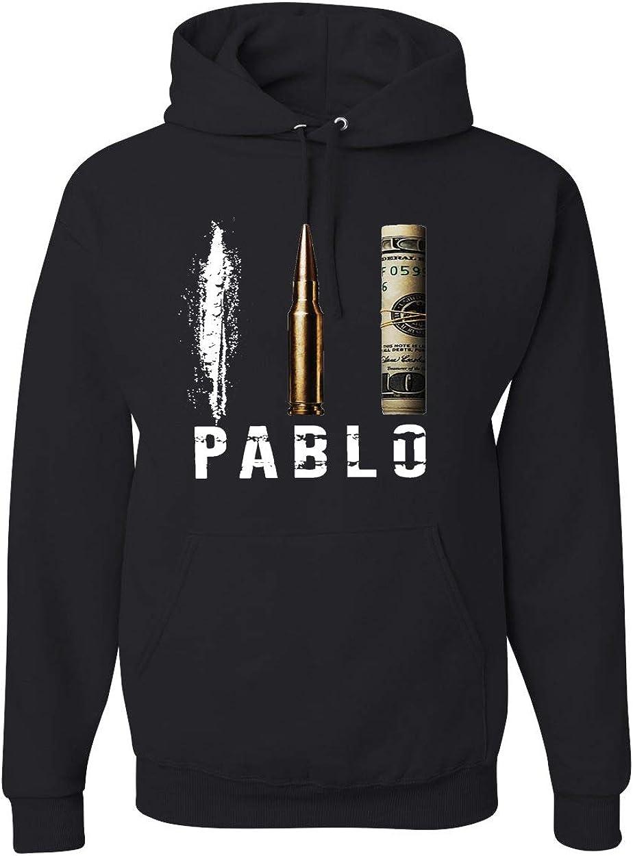 Wild Bobby Pablo Escobar Cocaine Narcos | Mens Pop Culture Hooded Sweatshirt Graphic Hoodie