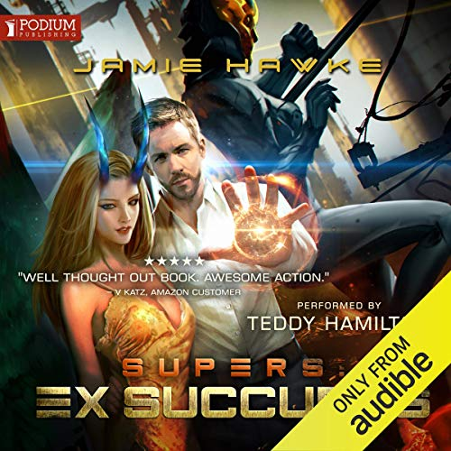 Supers: Ex Succubus audiobook cover art