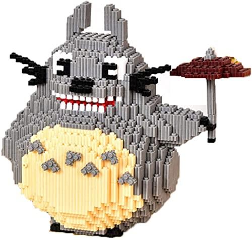 RSVT Bloques De Construcción De Totoro 4450 Piezas Mini Ladrillos Animal Puzzle Toys Regalos para Niños Adultos