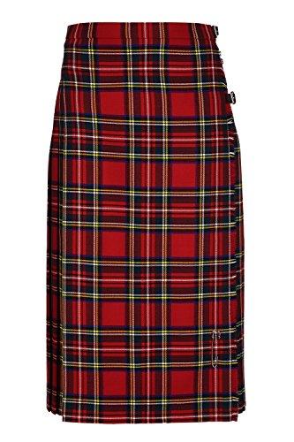 Oxfords Cashmere Klassischer Damen- Kilt aus Reiner Schurwolle. (48, Royal Stewart)