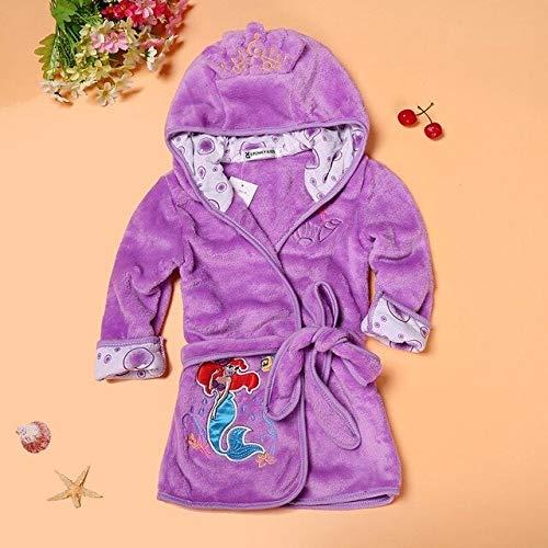 Kinder Jungen Mädchen Robe 2020 Bademantel Weiche Flanell Robe Pyjamas Baby Kinder...