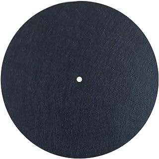 MayRecords 12インチレコードマット ターンテーブルマット レコードプレーヤー用 帯電防止 防振マット 静電気 3mm