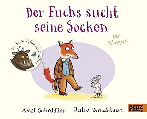 Der Fuchs sucht seine Socken: Pappbilderbuch mit Klappen