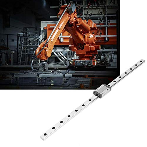 Linear rail guide with a width of 12 mm, linear slide rail, for DIY 3D printers(400mm)