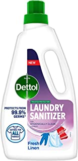 Dettol After Detergent Wash Liquid Laundry Sanitizer for all Fabrics, Spring Blossom - 960ml