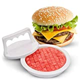 Prensa para hamburguesas, molde para hacer hamburguesas, molde antiadherente para hacer hamburguesas rellenas, hamburguesa de ternera, accesorios para asar