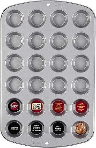 Wilton Plaque à mini muffins 24 moules