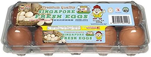 N&N Premium Quality Singapore Fresh Eggs, 10 x 60g