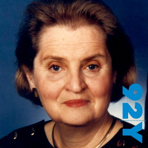 Madeleine Albright at the 92nd Street Y audiobook cover art