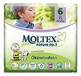 132 pcs Nature MOLTEX No1 funda de almohada de pañales XL GR 6 (16-30 kg) 6 x 22 ST