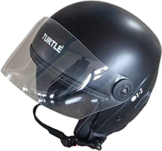 Boston Half Face Helmet (Multi Color) (Black)