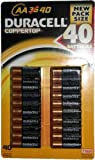 Duracell Alakaline Batteries - Size AA - 40 Pack (デュラセル アルカリ 乾電池 単3形 40個入り)