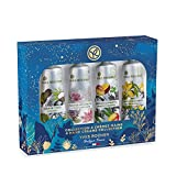Yves Rocher Holiday Women Beauty Gift Set Moisturizing Hand Cream Collection (4 x 1 fl. Oz)