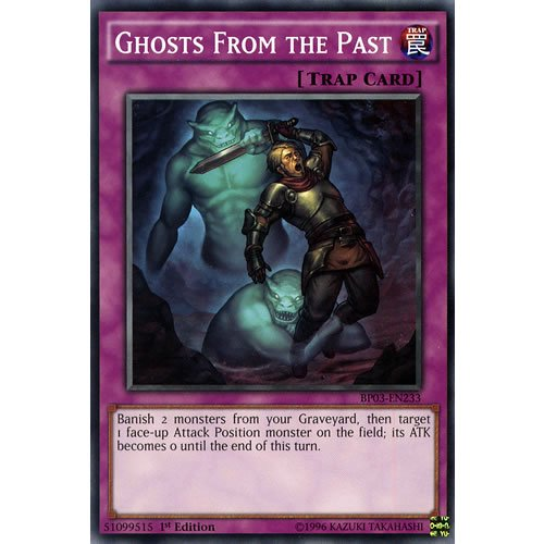 BP03-EN233 Unlimited Ed Ghost from the Past Shatterfoil Rare Card Battle Pack 3 Monster League Yu-Gi-Oh Einzelkarte