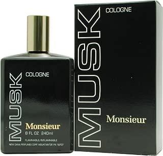 Monsieur Musk By Dana For Men. Cologne 8.0 Oz.