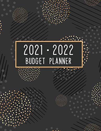 Budget Planner 2021-2022: Two Year Budget Notebook 8.5