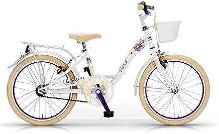 a49030ec82b 'Bicicleta MBM FLEUR DE NIÑA CON MARCO DE ACERO de 30 cm, ruedas de · '