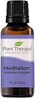Plant Therapy Meditation Essential Oil Blend 30 mL (1 oz) 100% Pure, Undiluted, Therapeutic Grade