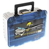 Plano 1349-00 Two Level Magnum 3449 Tackle Box, Sandstone/Blue, One Size