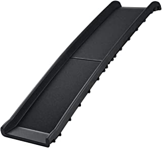 West Ivory Pets Foldable Lite Ramp for Puppies and Dogs, Non-Slip Supports Small, Medium, Large Up to 200lbs 62