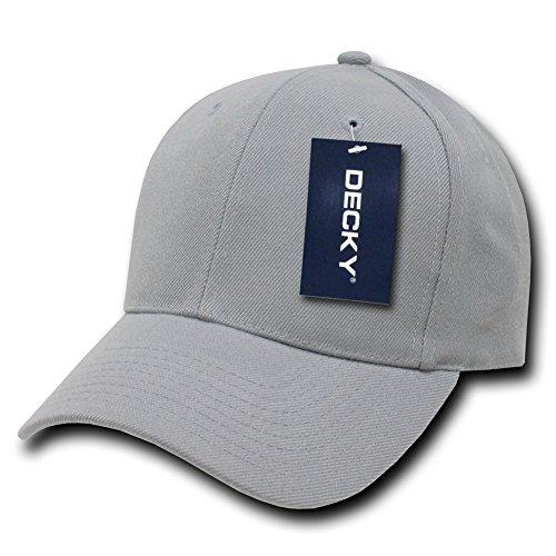 Plain Hats Uni Pro Chapeaux Casquette de Baseball, Homme, Pro, Gris, n/a