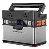 ALLPOWERS Portable Power Station Portable Generator 372Wh/100500mAh Emergency Power Supply with DC/AC Inverter