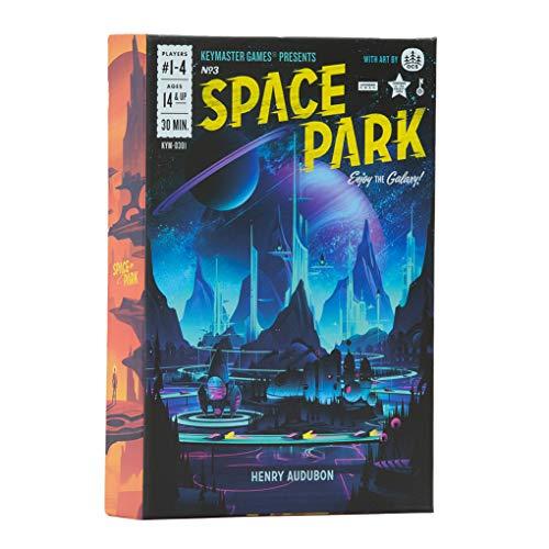 Keymaster Games KYM0301 Space Park, Multicoloured