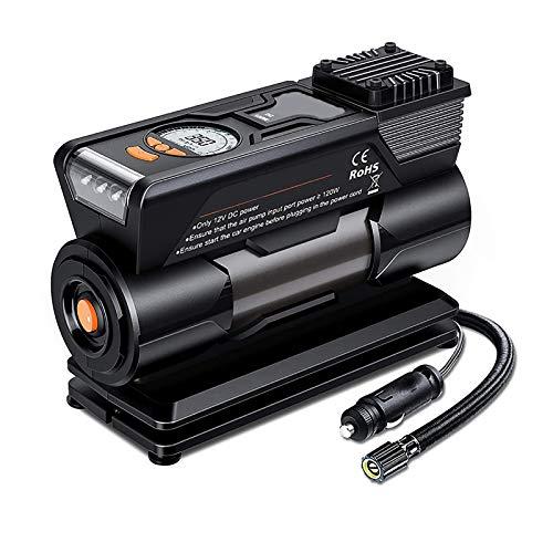 Compresor Bomba De Aire Sin Cable Automática Rechargeable Moto - Hinchador Bomba...