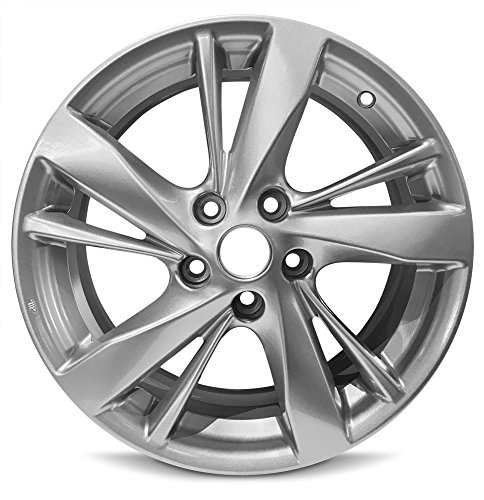 Road Ready Car Wheel For 2013-2015 Altima Nissan 17 Inch 5 Lug Silver Aluminum Rim Fits R17 Tire - Exact OEM Replacement - Full-Size Spare