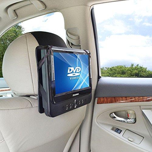 WANPOOL Auto Kopfstützen Halterung für 10 Zoll Tragbare DVD-Player mit Schwenkbaren Monitor