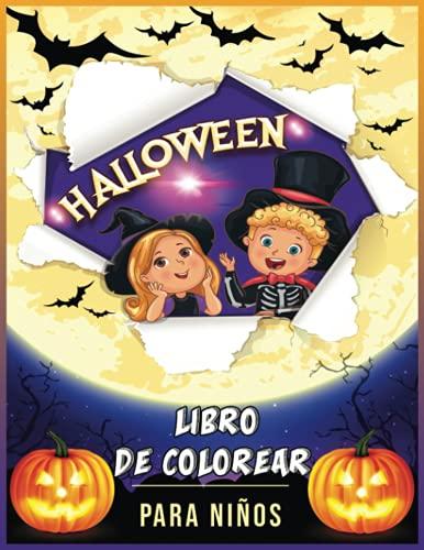 Halloween Libro De Colorear Para Niños: 30 Dibujos De Halloween Para Colorear | Hombre Lobo, Vampiros, Espantapájaros, Momias, Zombis | Un Regalo Mágico Para Los Niños