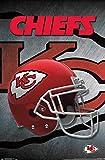 Trends International Kansas City Chiefs Helmet Wall Poster 22.375' X 34'