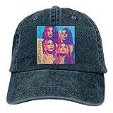 Unisex Adjustable Washed Dyed Baseball Cap Fifth Harmony Snapback Hip Hop Dad Hat Navy