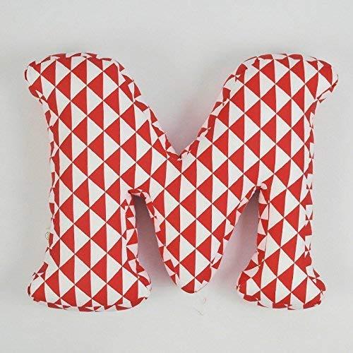 kids throw pillow playroom Free Shipping Cheap Bargain Gift decor initial custom fabric Dallas Mall letter